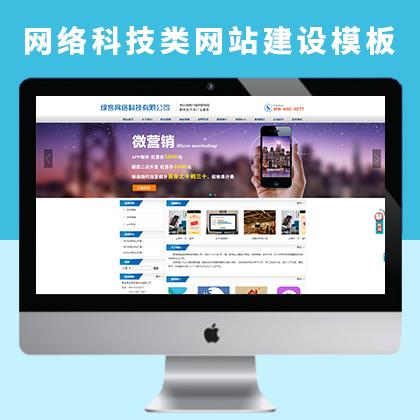 网络科技类行业网站建设及网络科技类关键词宣传推广优化